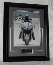 "A403JK JOEL KINNAMAN - ""ROBOCOP"" SIGNED FRAMED AUTHENTIC"